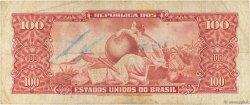 10 Centavos sur 100 Cruzeiros BRÉSIL  1966 P.185a TB