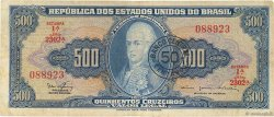 50 Centavos sur 500 Cruzeiros BRÉSIL  1967 P.186a pr.TTB