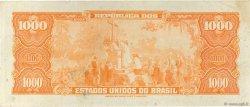 1000 Cruzeiros BRÉSIL  1962 P.173b TTB+