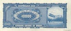 10000 Cruzeiros BRÉSIL  1966 P.182Ba TTB+