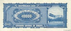 10 Cruzeiros Novos sur 10000 Cruzeiros BRÉSIL  1966 P.189a TTB+