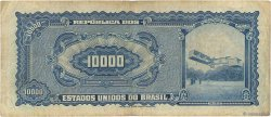 10 Cruzeiros Novos sur 10000 Cruzeiros BRÉSIL  1967 P.189b TB