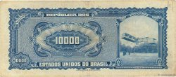 10 Cruzeiros Novos sur 10000 Cruzeiros BRÉSIL  1967 P.189c TB+
