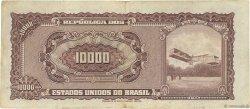 10 Cruzeiros Novos sur 10000 Cruzeiros BRÉSIL  1967 P.190a TB+