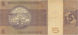 5 Cruzeiros BRÉSIL  1973 P.192b TB