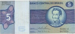 5 Cruzeiros BRÉSIL  1973 P.192c TTB