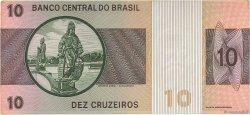 10 Cruzeiros BRÉSIL  1970 P.193a TTB