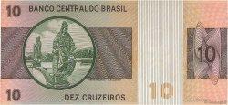10 Cruzeiros BRÉSIL  1970 P.193a TTB+