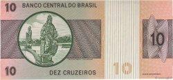 10 Cruzeiros BRÉSIL  1974 P.193b SUP