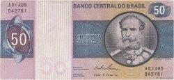 50 Cruzeiros BRÉSIL  1974 P.194b TTB
