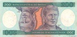 200 Cruzeiros BRÉSIL  1984 P.199b TTB