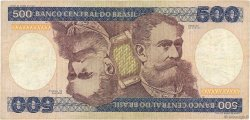 500 Cruzeiros BRÉSIL  1981 P.200a TB