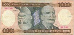 1000 Cruzeiros BRÉSIL  1985 P.201c TB