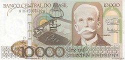10000 Cruzeiros BRÉSIL  1985 P.203b NEUF