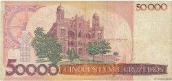 50000 Cruzeiros BRÉSIL  1984 P.204a TB