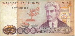 50000 Cruzeiros BRÉSIL  1985 P.204c TB