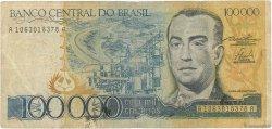 100000 Cruzeiros BRÉSIL  1985 P.205a B
