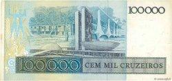 100000 Cruzeiros BRÉSIL  1985 P.205a TTB