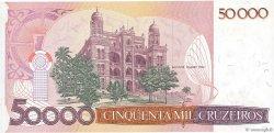 50 Cruzados sur 50000 Cruzeiros BRÉSIL  1986 P.207a NEUF