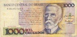1000 Cruzados BRÉSIL  1987 P.213a TB