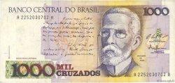 1000 Cruzados BRÉSIL  1987 P.213a TTB