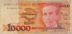 10000 Cruzados BRÉSIL  1989 P.215a B
