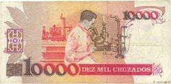 10000 Cruzados BRÉSIL  1989 P.215a TB+