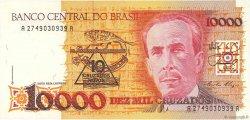 10 Cruzados Novos sur 10000 Cruzados BRÉSIL  1989 P.218a SPL