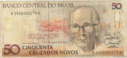 50 Cruzados Novos BRÉSIL  1989 P.219a TB