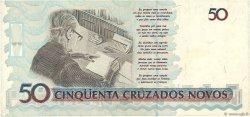 50 Cruzados Novos BRÉSIL  1989 P.219a TTB