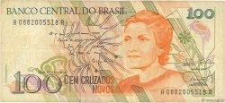 100 Cruzados Novos BRÉSIL  1989 P.220a TB