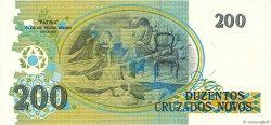 200 Cruzados Novos BRÉSIL  1989 P.221a SPL