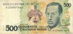 500 Cruzados Novos BRÉSIL  1990 P.222 TB
