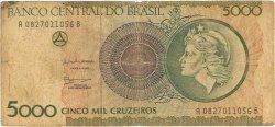 5000 Cruzeiros BRÉSIL  1990 P.227a B
