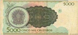 5000 Cruzeiros BRÉSIL  1990 P.227a TB