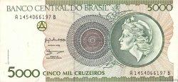 5000 Cruzeiros BRÉSIL  1990 P.227a SPL