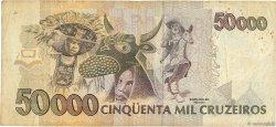 50000 Cruzeiros BRÉSIL  1992 P.234a TB