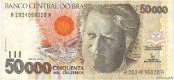 50000 Cruzeiros BRÉSIL  1992 P.234a TTB