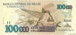 100000 Cruzeiros BRÉSIL  1992 P.235a SPL
