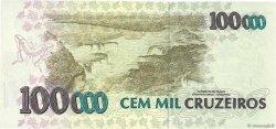 100000 Cruzeiros BRÉSIL  1993 P.235b NEUF