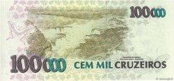 100000 Cruzeiros BRÉSIL  1993 P.235c NEUF