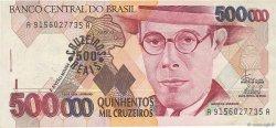 500 Cruzeiros Reais sur 500000 Cruzeiros BRÉSIL  1993 P.239a TTB