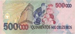 500 Cruzeiros Reais sur 500000 Cruzeiros BRÉSIL  1993 P.239b NEUF