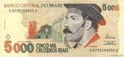 5000 Cruzeiros Reais BRÉSIL  1993 P.241 TTB+