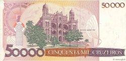 50 Cruzados sur 50000 Cruzeiros BRÉSIL  1986 P.207a TTB+