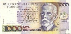 1 Cruzado Novo sur 1000 Cruzados BRÉSIL  1989 P.216a NEUF