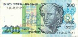 200 Cruzeiros BRÉSIL  1990 P.229 SPL