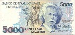 5000 Cruzeiros BRÉSIL  1990 P.232a TTB