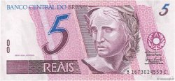 5 Reais BRÉSIL  1994 P.244Af NEUF