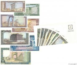 Lot de 7 billets LIBAN  1978 P.LOT NEUF